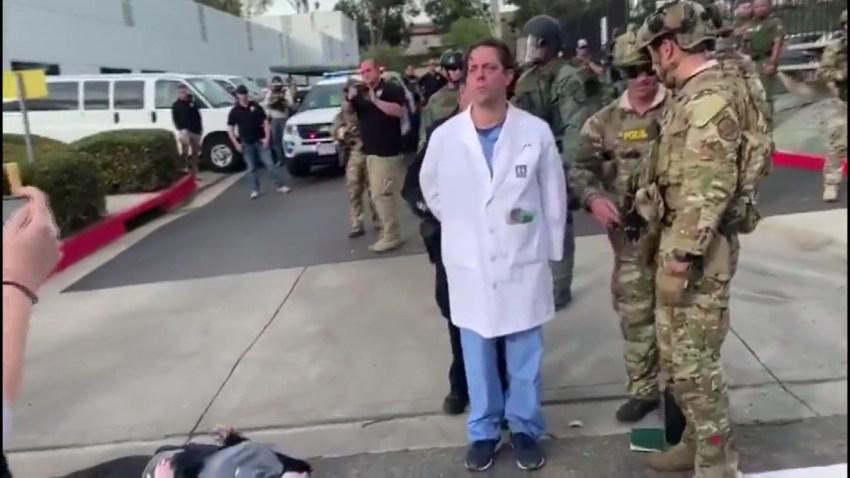 doctor arrested