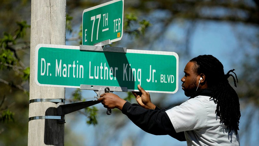 King Boulevard Kansas City Divide