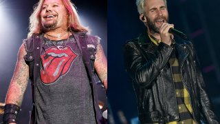 Maroon 5 and Motley Crue Concert Announcer