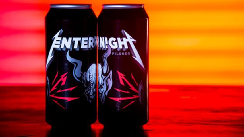 Metallica and Stone Brewing Two_cans_Enter_Night_Pilsner_Studio
