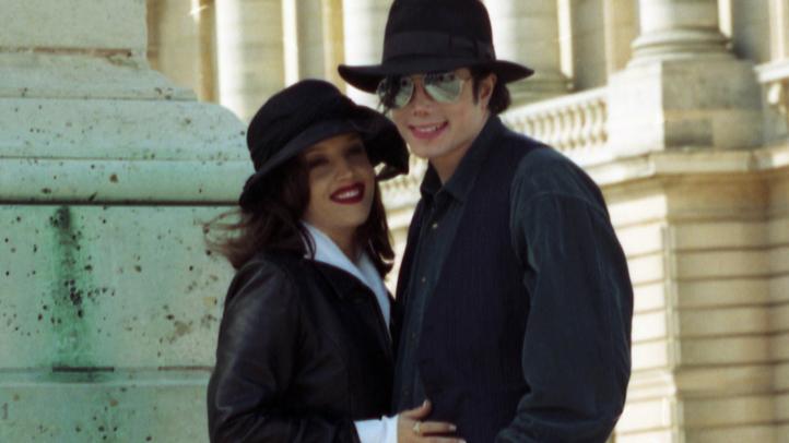 Michael Jackson and Lisa Marie