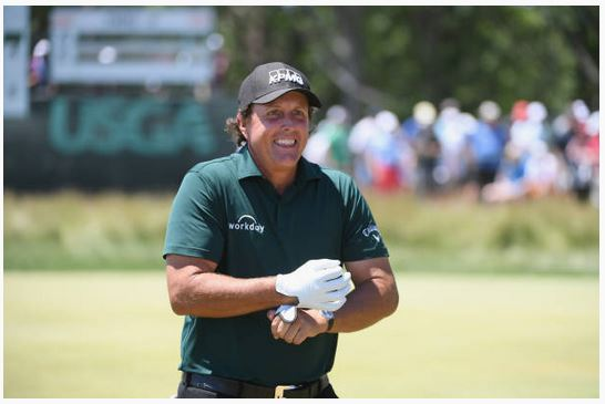 Mickelson US Open