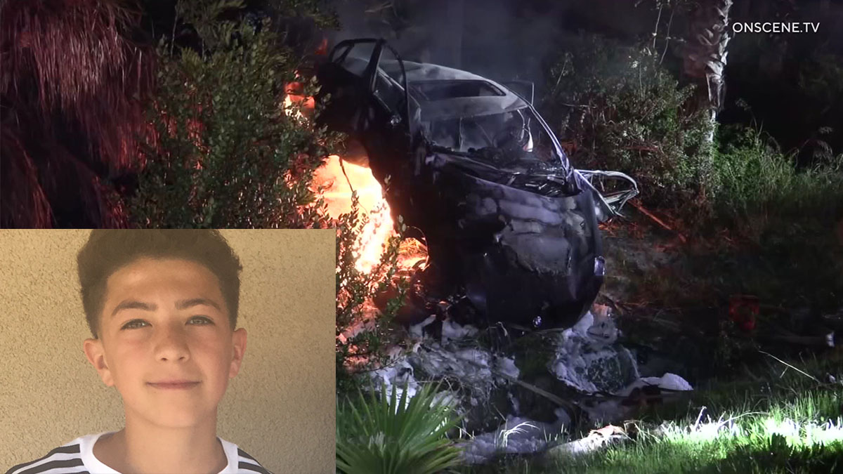 Teen Driver Charged as Juvenile for Fiery Transition Ramp Crash That Killed 2