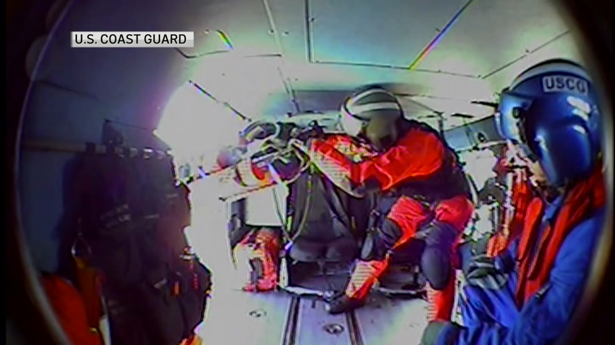 SDFD, Coast Guard Rescue Cruise Ship Passenger Off San Diego Coast