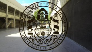 The city of San Diego seal