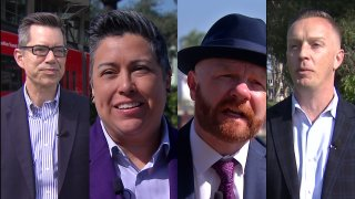 The candidates for San Diego City Councils District 3.