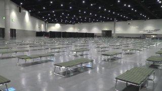 san diego convention center prepped