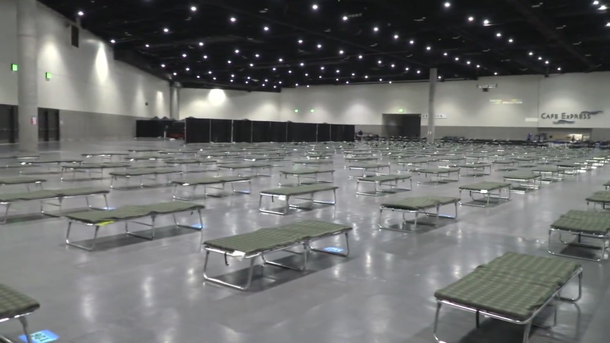 County Leaders to Discuss Convention Center's Transformation Into Temporary Homeless Shelter