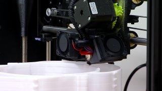 3D Printer Prints Face Shields at PLNU
