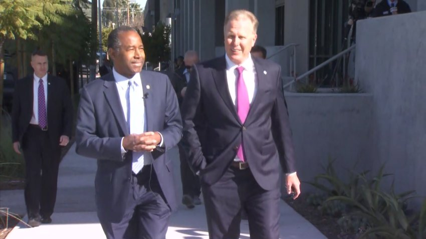 Ben Carson and Kevin Faulconer Together