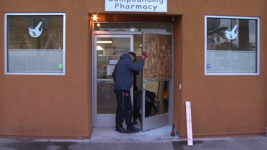 'Glass All Over': Break-Ins Reported at Pacific Beach Businesses