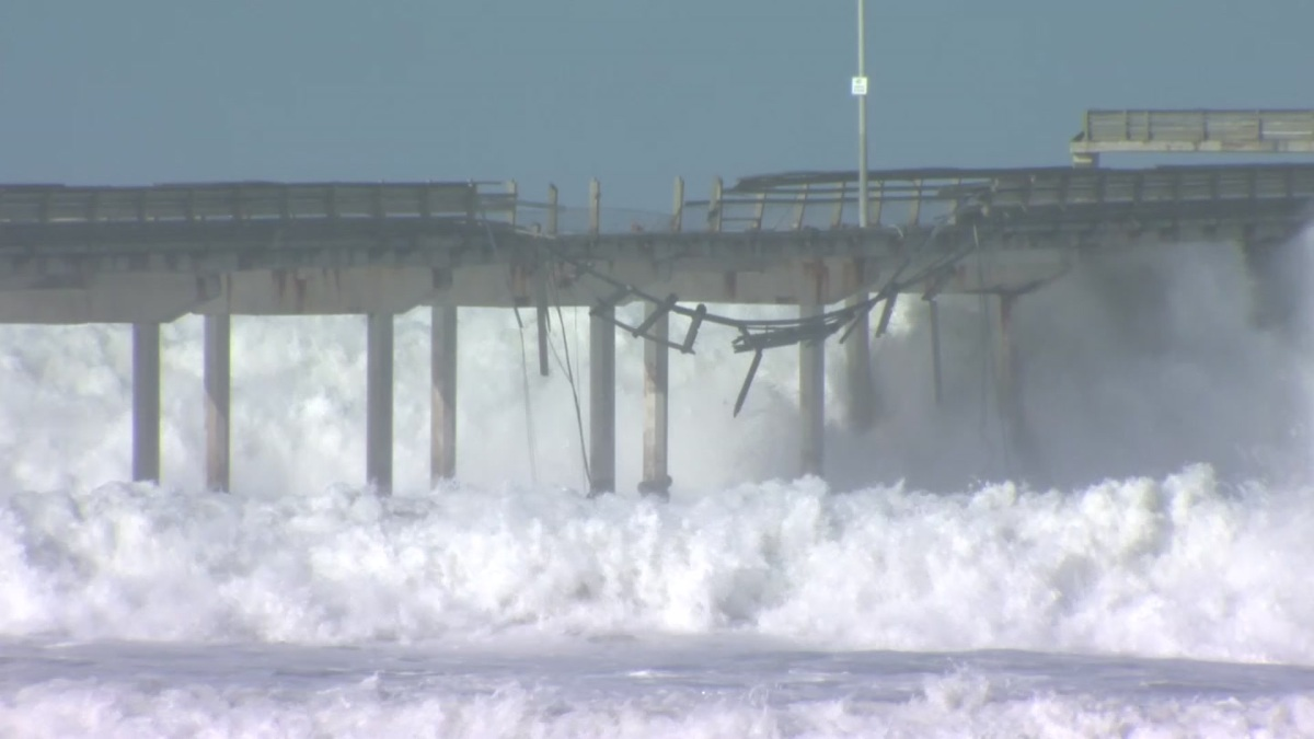 Ocean Beach Pier Reopens After Lengthy Repairs to Railing ...