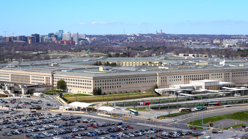 This undated photo shows the Pentagon headquarters of the U.S. Department of Defense in Washington, D.C.
