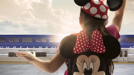 Pacific Surfliner Disneyland Resort Partnership