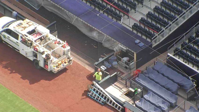 Padres Petco Park Netting Extension