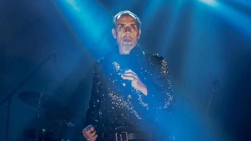 Bauhuas frontman Peter Murphy
