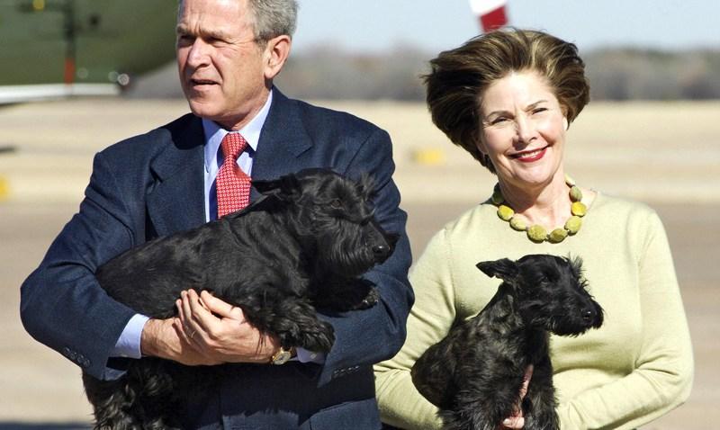 Presidential Pets W Bush