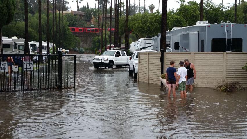 RV park flooding chris chabn