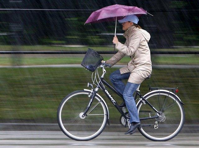Rain-on-a-Bike
