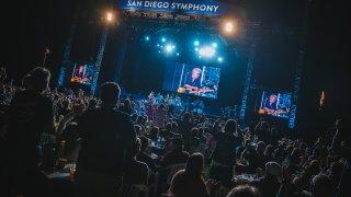 Roger Daltrey at San Diego Symphony Bayside Summer Nights