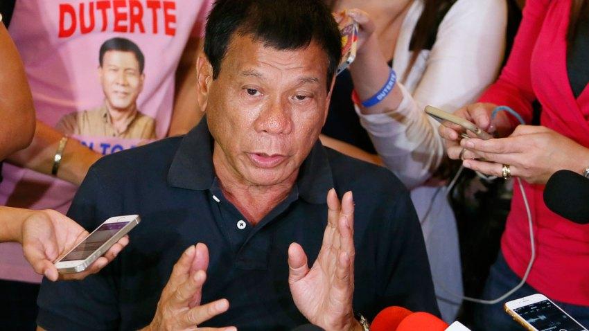 Philippines Presidential Elections Duterte