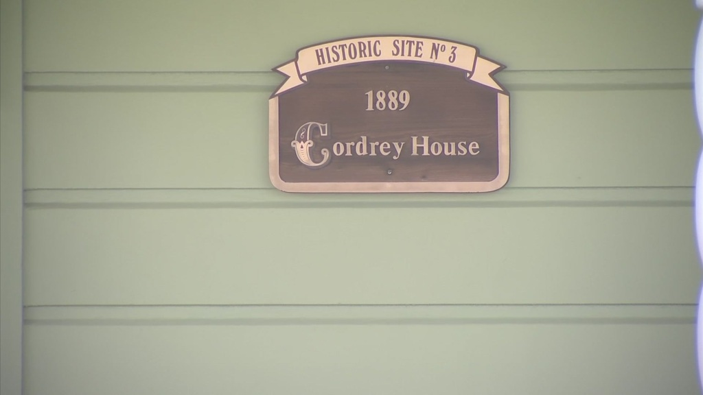Cordrey House's historic designation.