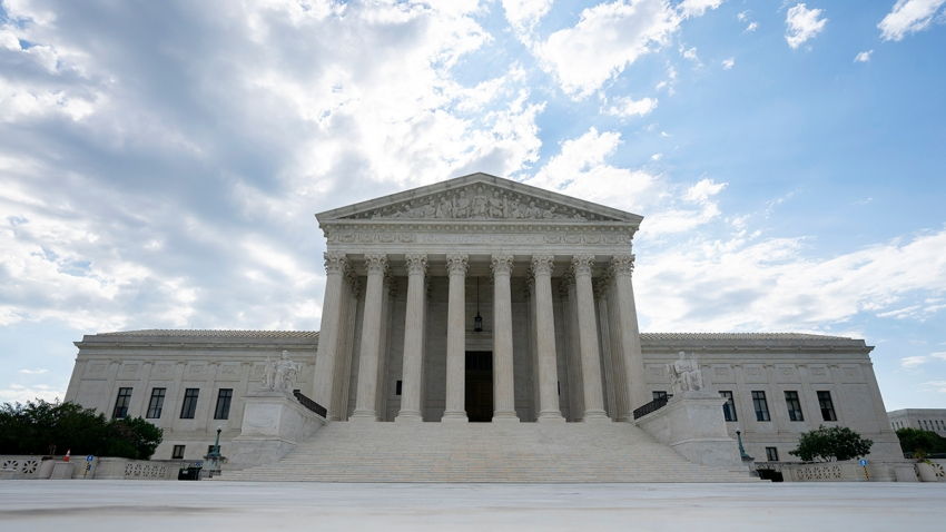 The U.S. Supreme Court is seen on June 30, 2020, in Washington, D.C.