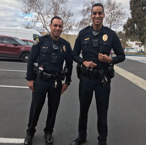 SDPD Officers Turn Drug Store Petty Theft Call Into Act of Kindness and Compassion