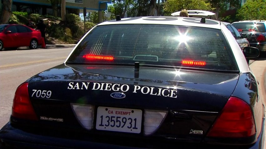 San Diego police generic daytime pic