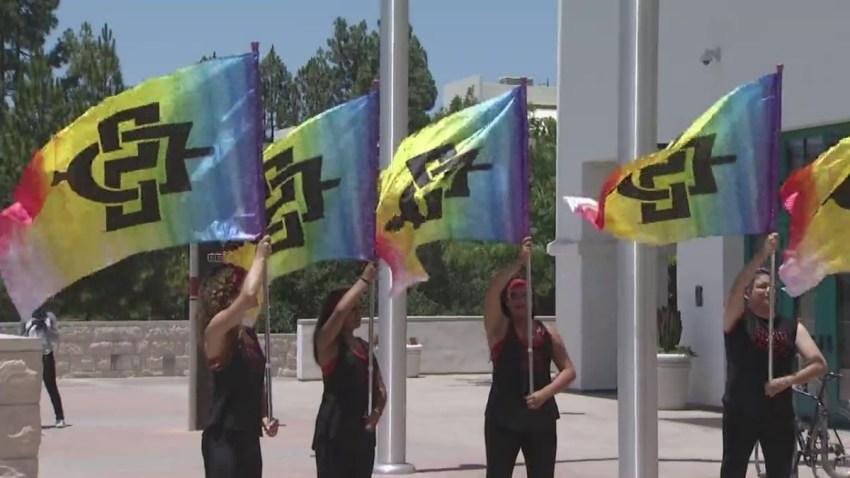SDSU_Pride_Flag_Raising_Clip_1200x675_986579523894