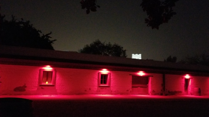 SF Haunted Fort Red Lights1