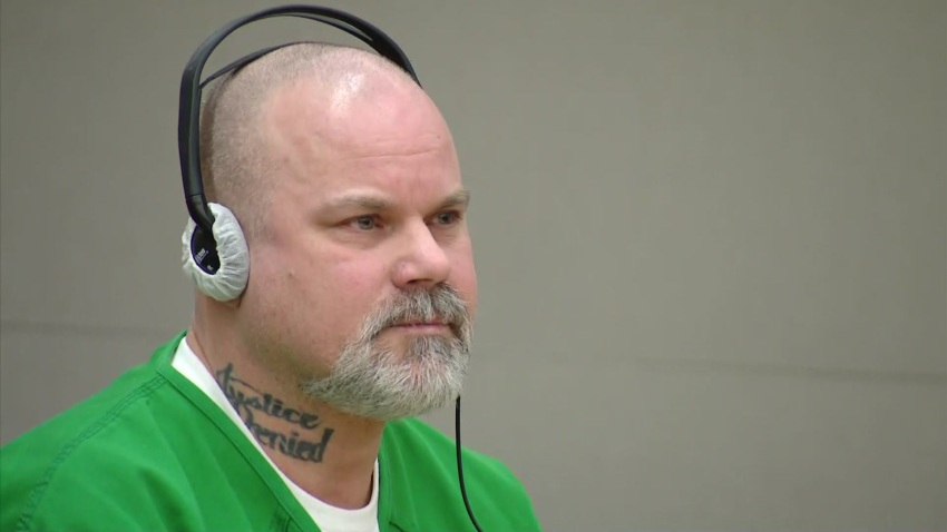 Timothy Cook at his sentencing.