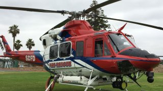 San Diego Fire Rescue Helicopter