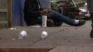 San Diego Homeless Ticket Enforcement