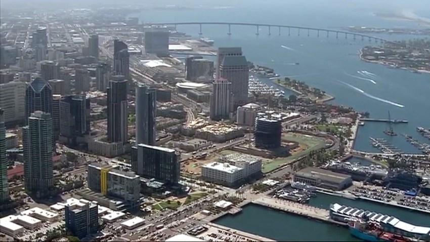 San-Diego skyline
