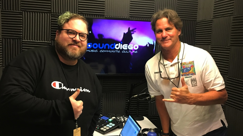 Serge Dedina (pictured right) sits in on Episode 2 of the SoundDiego Podcast
