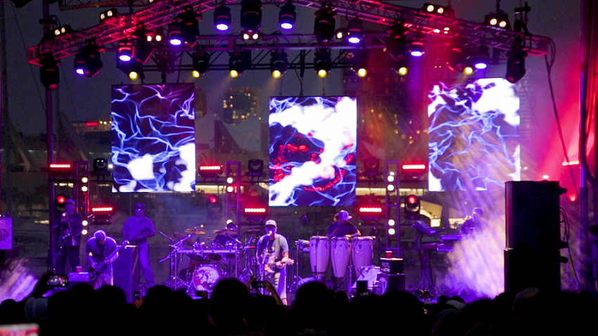 Slightly Stoopid performing at Bayfest
