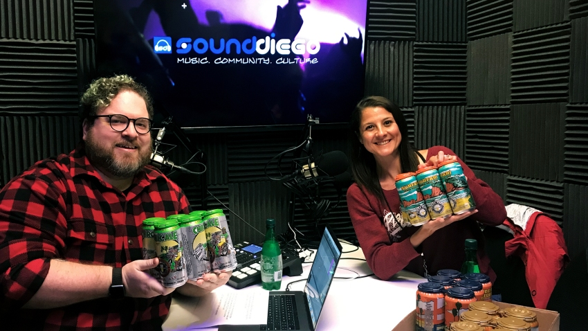 Pizza Port's Jill Olesh guests on Episode 8 of the SoundDiego Podcast