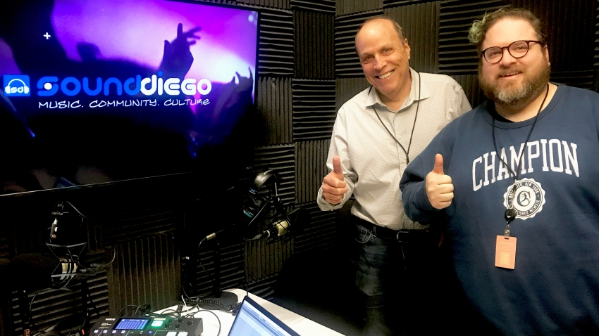 Ken Kramer sits in for Episode 6 of the SoundDiego Podcast