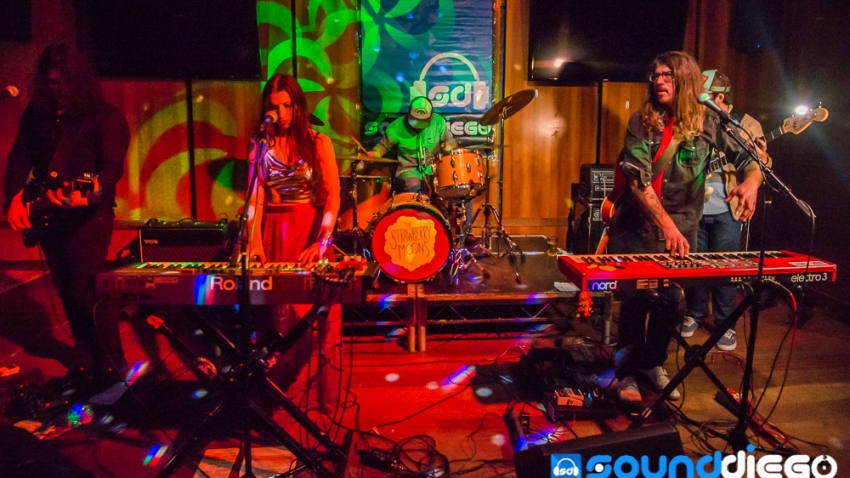 SoundDiego LIVE The Strawberry Moons 9