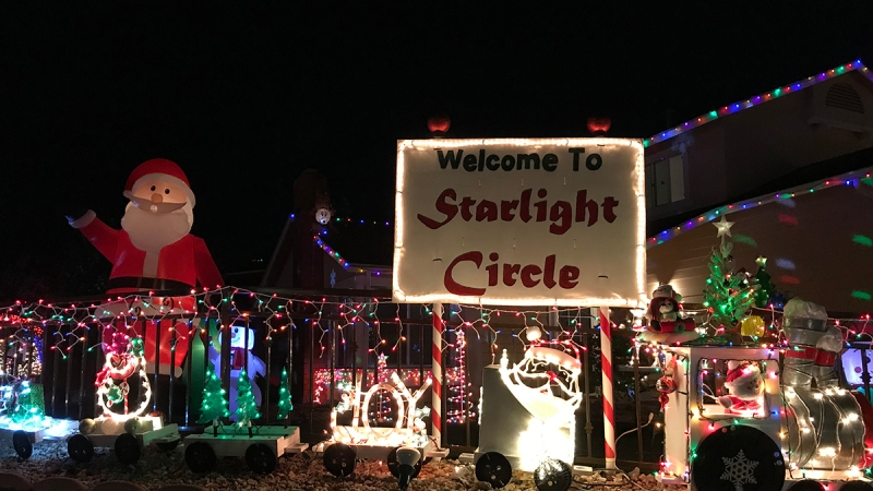 Photos: Starlight Circle in Santee Among Must-See 2019 Holiday Light Displays