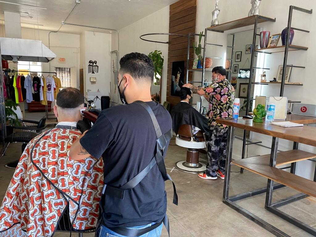 Stevie's Barber Shop in Barrio Logan