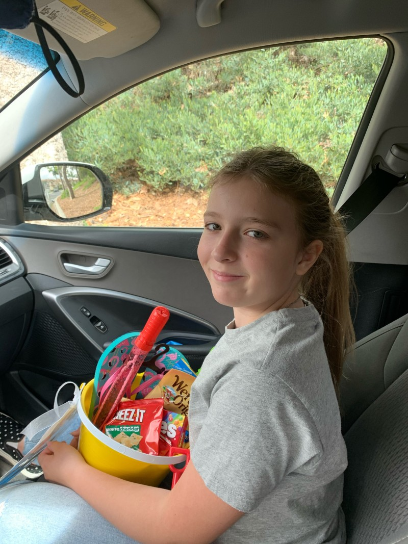 'Bucket Full of Kindness': Escondido Girl, 10, Spreads Love to Neighbors