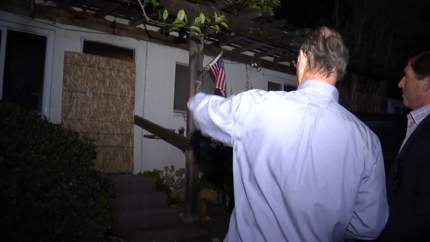 Fire Takes SDFD Chaplain's Home, Not His Spirit