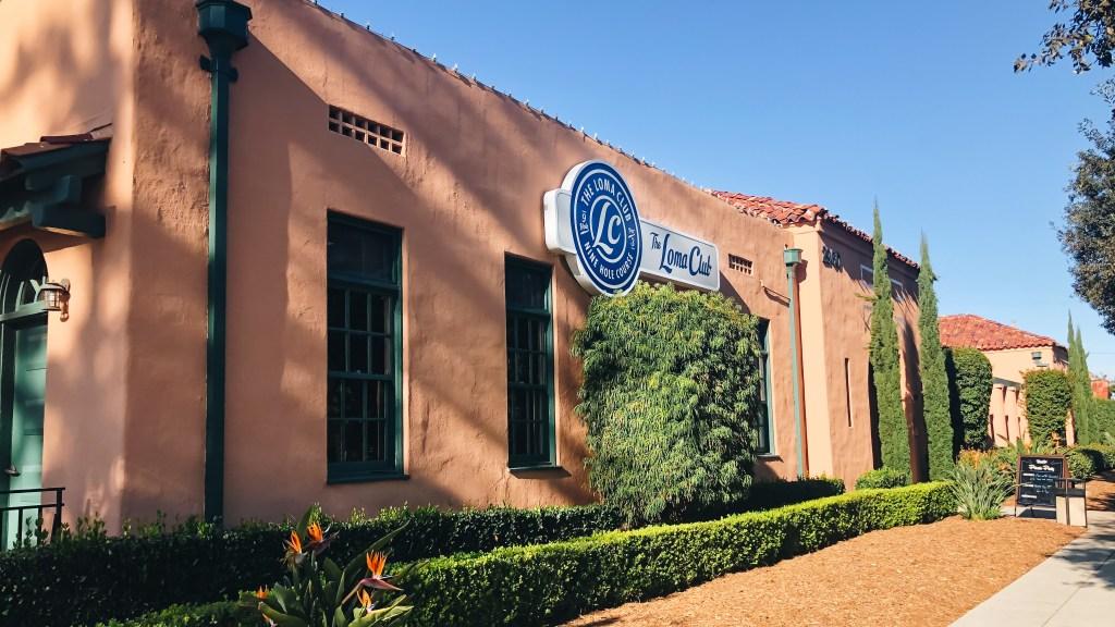 The Loma Club's exterior