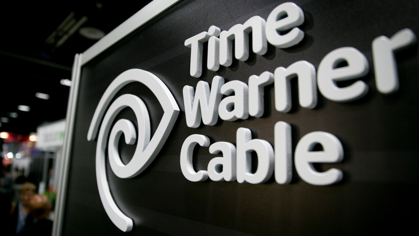 A photo of The Time Warner Cable Inc. logo.