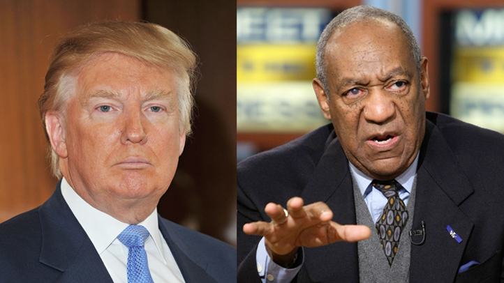 Trump and Cosby