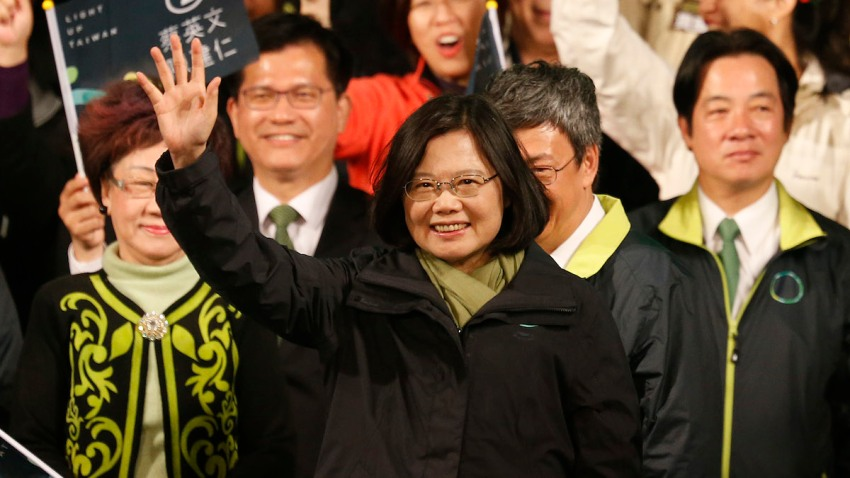 APTOPIX Taiwan Presidential Election