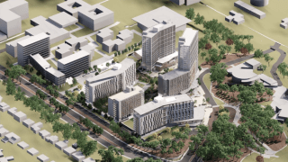 An image of UCSD's Future College Living and Learning Neighborhood.