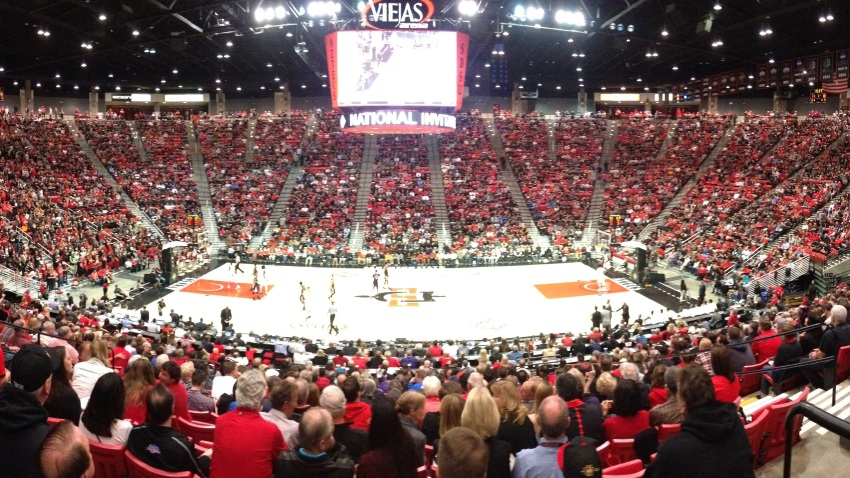Viejas Arena Sellout Crowd